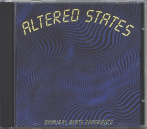'Altered States' CD front image