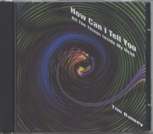 'How Can I Tell You All The Things Inside My Head' CD front image