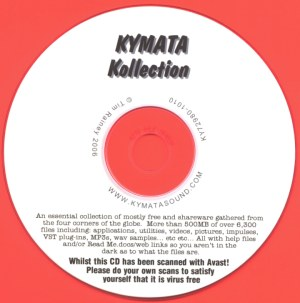 'Kymata Kollection' CD image