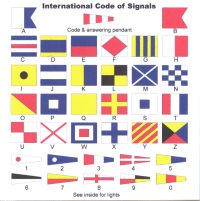 International code of signals CD insert image